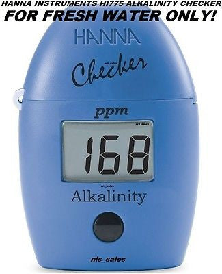 Hanna HI 775 Checker HC Alkalinity Photometer (Blue) HI775 - FRESH WATER ONLY!