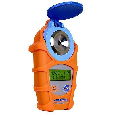 MISCO Palm Abbe Digital Refractometer, Propylene Glycol Scales, + ARMOR JACKET