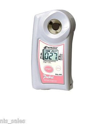 $329.99 Atago PAL-10S, Digital Clinical Specific Gravity Refractometer, Urine Refurbished