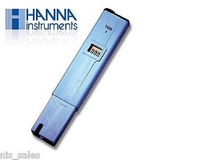 $28.99 Hanna TDS1, TDS Meter Tester, PPM DI RO Filter Water