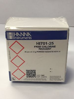 Hanna HI 701-25 Checker Free Chlorine Reagents HI701