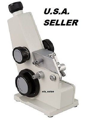 ABBE Refractometer 0-95% Brix % 1.000-1.700 nD Refractive Index ATC, FREE S&H