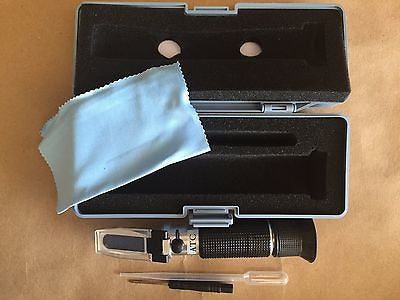 0-90% Brix Refractometer Syrup, Jam, Sauces, Honey - SINGLE SCALE! RHB0-90ATC