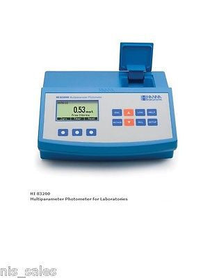 $849.99 Hanna HI83200-01, Options for 44 Parameters, ISM Water Meter - HI 83200