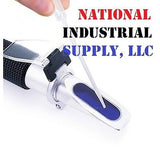 National Industrial Supply 0-10% ATC BRIX REFRACTOMETER 4 MAPLE SAP, CNC, RBTI