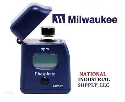 $47.00 FREE S&H, MILWAUKEE INSTRUMENTS MW12, 0.00-2.50ppm Photometer Phosphate Checker HI713