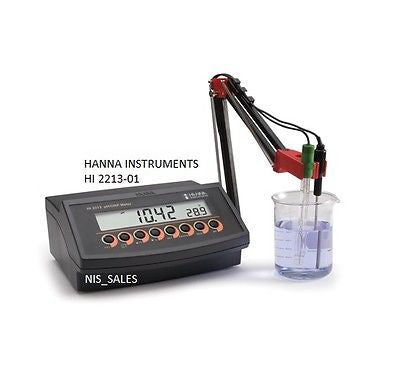 pH/ORP Benchtop Meter with Three Point Calibration