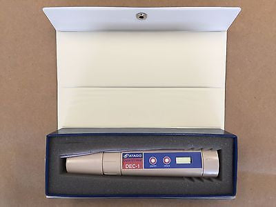 Atago DEC-1, Digital Electric Conductivity Meter, Checker, Tester