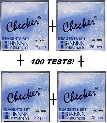 Hanna HI 713-25 Checker Phosphate Reagent - (100) Tests - PROFESSIONAL PACK!