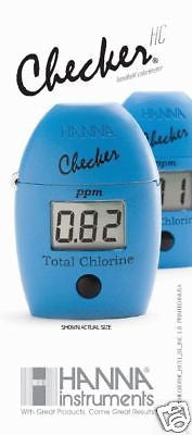 Hanna Instruments HI 711 Checker HC Handheld Colorimeter, For Total Chlorine