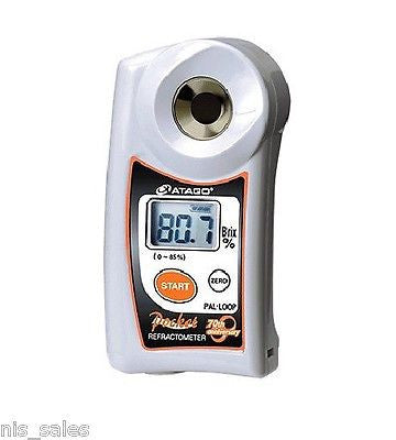 Atago PAL-Loop, Digital ABBE 0-85% Brix Refractometer, Continuous Measurement