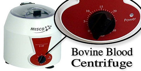 Misco Bovine Blood Centrifuge