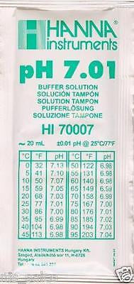 Hanna Instruments HI70007P pH Meter Buffer Solution Pouches 7.01, 20ml Pouch