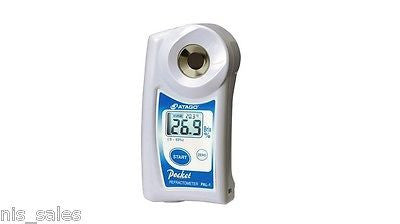 Atago PAL-07S Digital Seawater and Specific Gravity Refractometer, Dual Scale, Marine, Aquarium