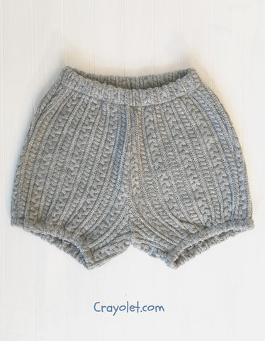Knit bloomers - 2 colours