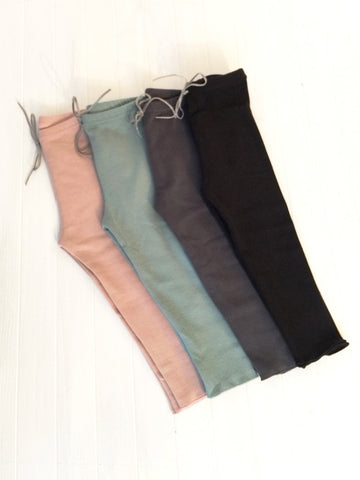 Leggings with bow tie - 4 colours