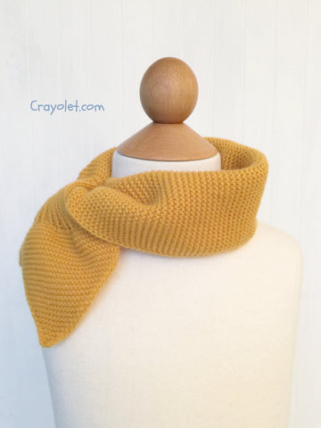 Scarf with tie - 4 colours