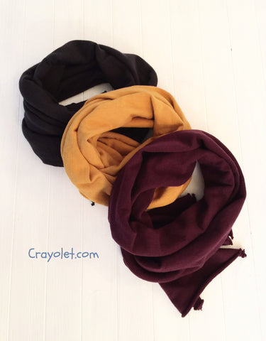 Cotton Scarf -3 colours