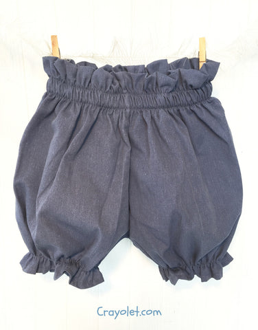 Bloomers - Denim blue