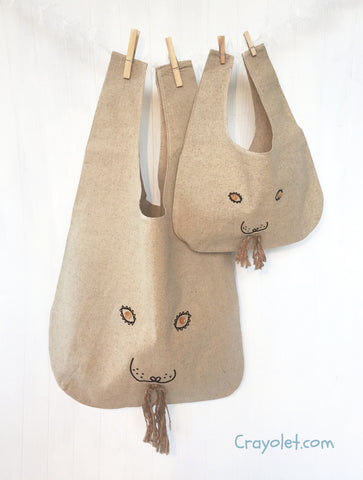 Eco bags for mommy and me