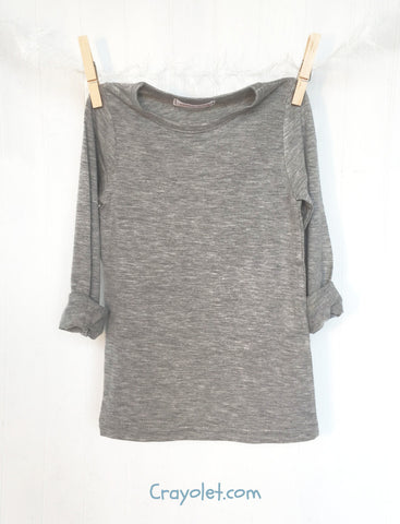Basic T-shirt Grey