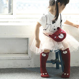 Adorable bear side bag - Red