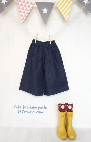 Culotte pants - Denim