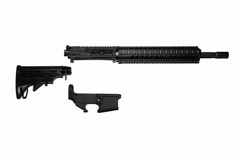 "AR-15 RIFLE KIT COMPLETE WITH 16"" BLACKOUT BARREL"