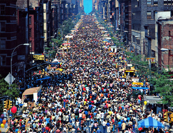 straßenfest in new york