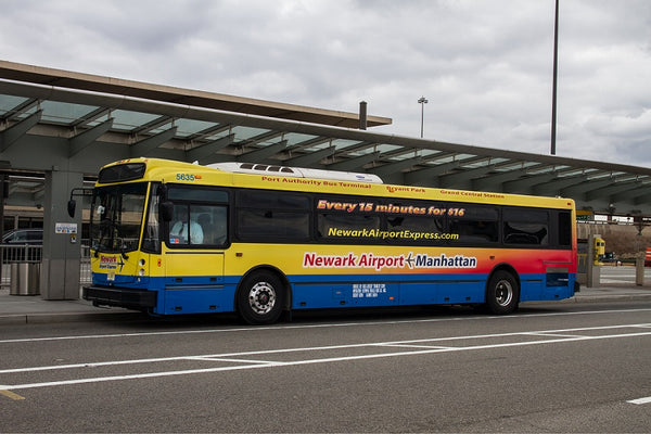 newark airport bus transfer, flughafen newark