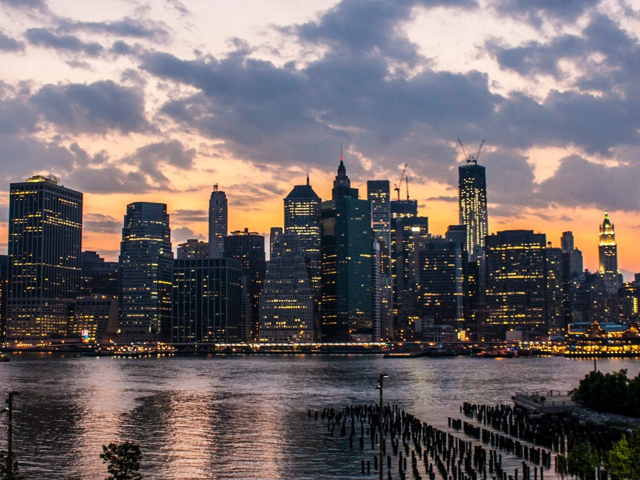 Panorama Nacht-Tour New York: Brooklyn Heigths und Hamilton Park