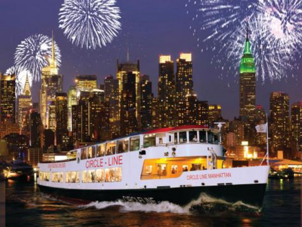 Silvester-Bootstour in New York City mit Circle Line