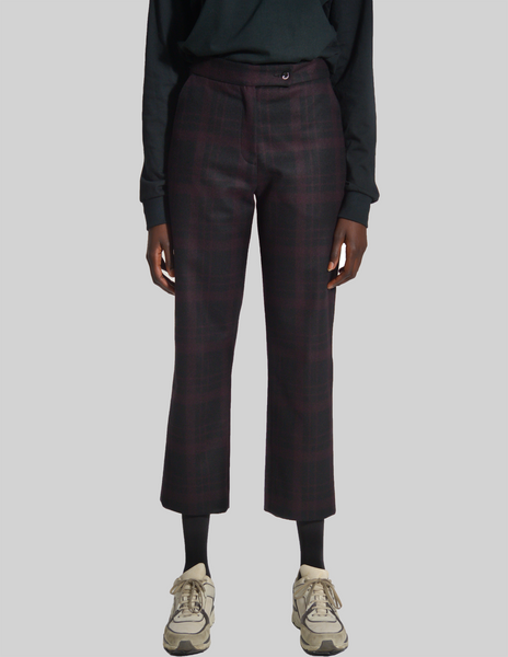Shadow Plaid Pant (Women)