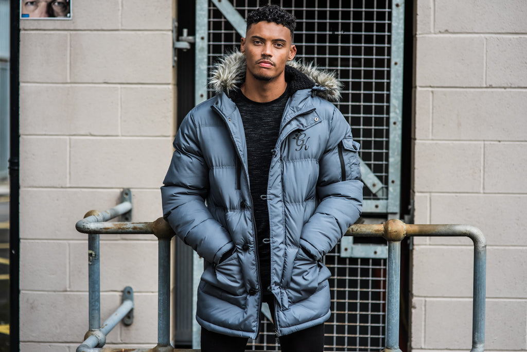Gym King Parka Jacket Steel
