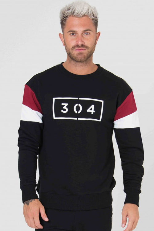 304 Clothing Jackson Sweater Black