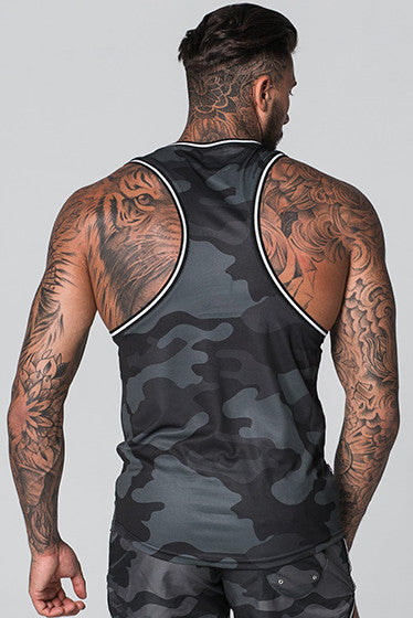 Good For Nothing Camouflage Blackout Vest
