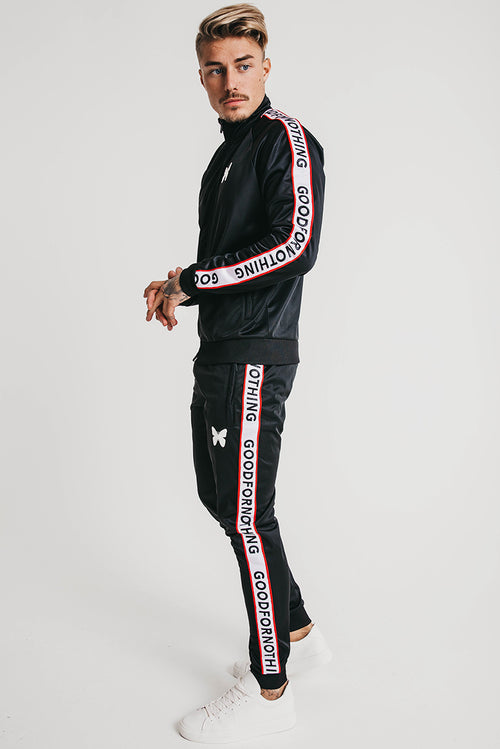 Good For Nothing Transition Track Jacket Black