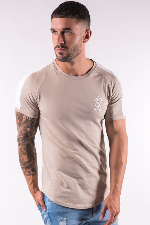 Gym King Longline Retro T-Shirt Nomad
