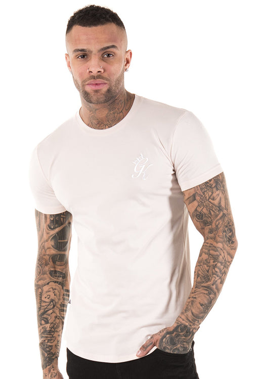 Gym King Longline Fitted T-Shirt Shell