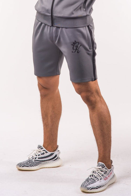 Gym King Major Poly Shorts Dark Grey