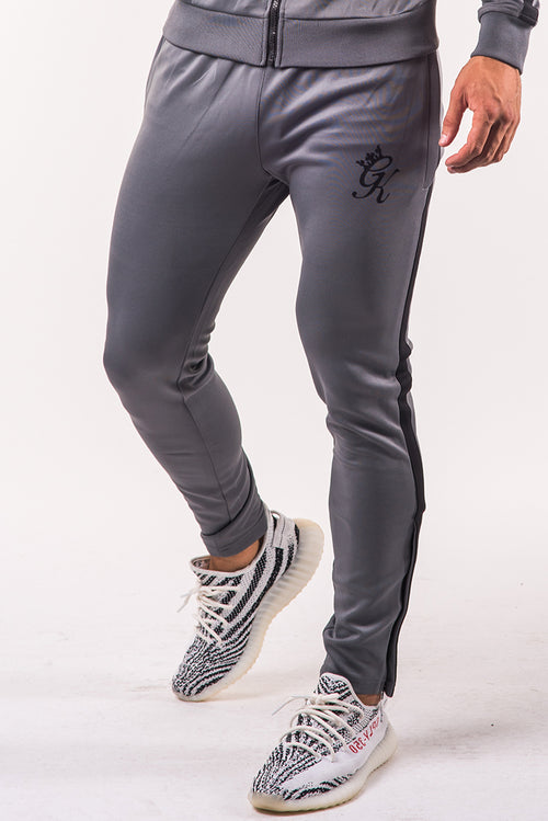 Gym King Poly Tracksuit Bottoms Steel