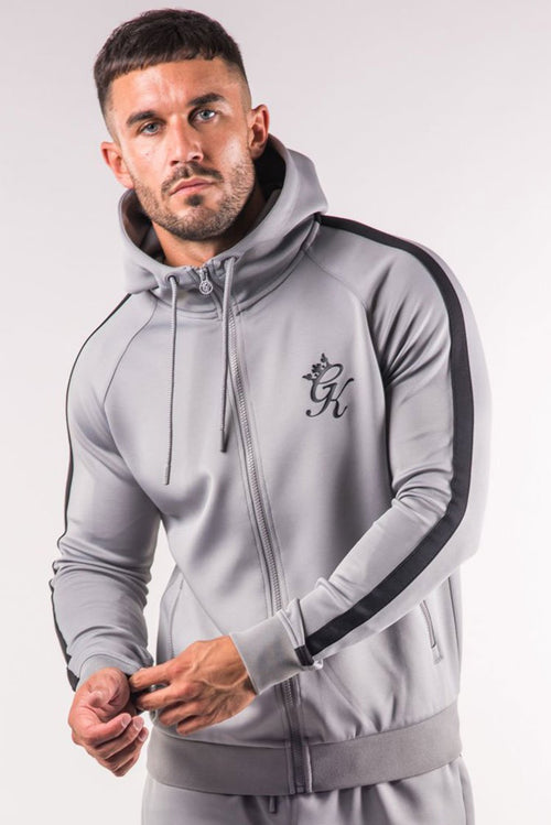Gym King Poly Tracksuit Top Sleet