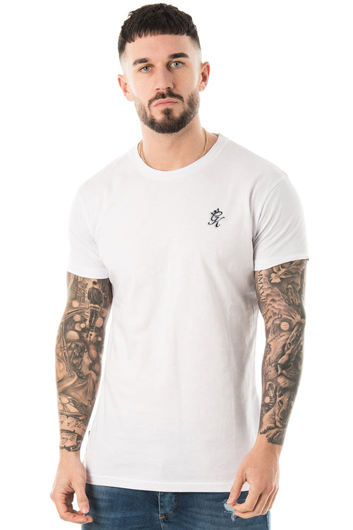 Gym King Signature T-Shirt White
