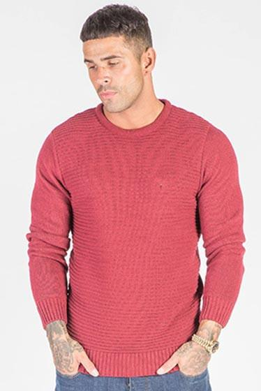 Intense Menswear Wolf Burgundy