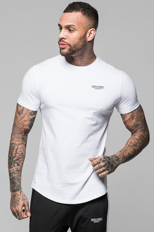 Muscle Monkey Essential T-Shirt White