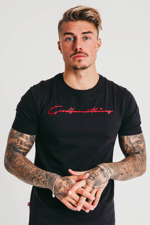 Good For Nothing Scribe T-Shirt Black