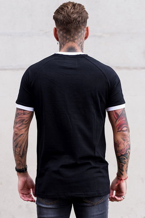 Sinners Attire Ringer T-Shirt Black