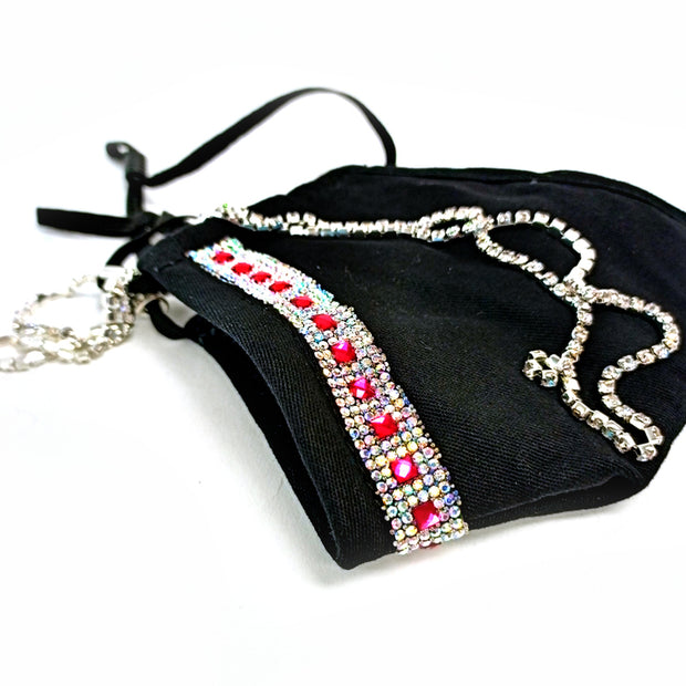 Jeweled Mask with Lanyard