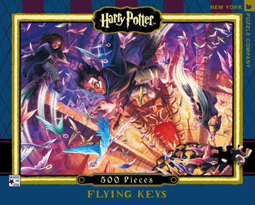Puzzle - Harry Potter: Flying Keys - 500 Pieces