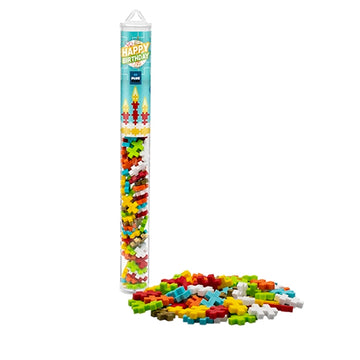 Plus Plus Mini Maker Tube - Happy Birthday